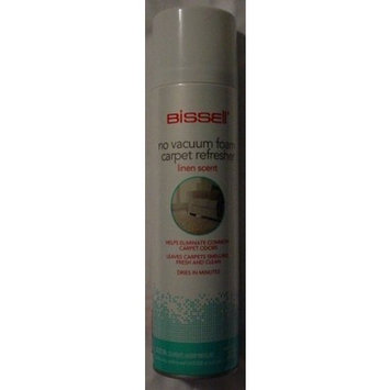 BISSELL No Vacuum Foam Carpet Refresher 12 oz LINEN SCENT
