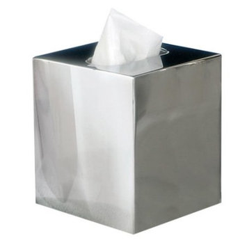 NU Steel Gloss Boutique Tissue Holder