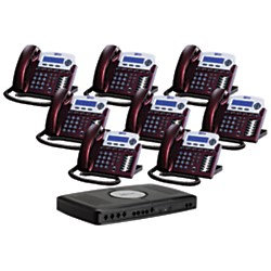 Xblue Networks X16 Phone System (8-Pack Bundle)