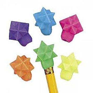 Cool Fun 9-635 Star-Shaped Eraser Pencil Toppers