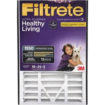 3M Filtrete Healthy Living 16 in. L x 25 in. W x 5 in. D Fiberglass Allergen Air Filter (Pack of 25)