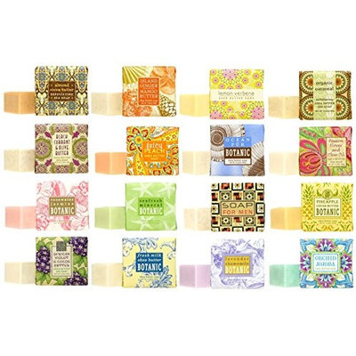 Greenwich Bay Trading Company Soap Multi Pack Sampler of 1.9oz bars - 32, 48, 64 or 80