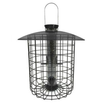 Droll Yankees 15 in. Sunflower Squirrel-Proof Domed Cage Bird Feeder