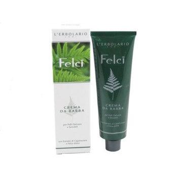 FELCI FERN Shaving Cream by L'Erbolario 5.07 Fl Oz 150ml