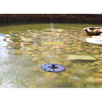 VicTsing 1.4W Fountain Pump with Floating Design & Improved Nozzle, Solar-powered Brushless DC Water Pump for Pond, Reach Up 45cm