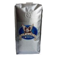San Marco Coffee Flavored Whole Bean Coffee, Rainforest Caramel Crunch , 1 Pound