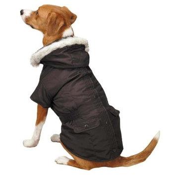 Pet Edge Dealer Services East Side Coll 3 in 1 Eskimo Dog Jacket LG Brown