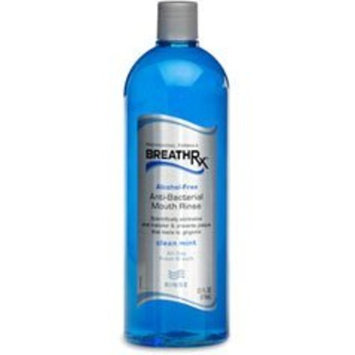BreathRx Anti-Bacterial Mouth Rinse (33oz Bottle) by BreathRx