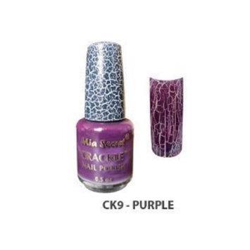 Mia Secret Crackle Nail Polish Purple Color 0.5oz (CK12)