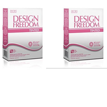 [ VALUE PACK OF 2] ZOTOS ACCLAIM DESIGN FREEDOM (TINTED) ALKALINE PERM (FIRM): Beauty