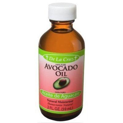 De La Cruz Pure Avocado Oil, Non-GMO, Expeller-Pressed, Bottled in USA 2 FL. OZ
