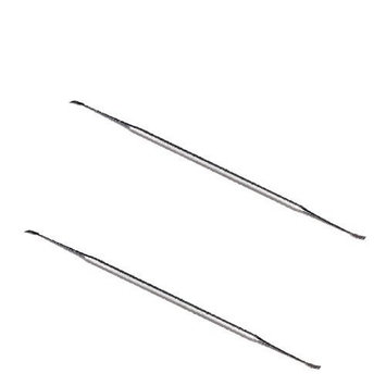 Tooth Scaler - Double Ended Dental Tooth Scaler for Cats or Dogs - Stainless Steel Tarter Removal Tool (2 Pack) by AaronCo