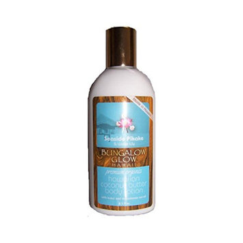 Hawaii Bungalow Organic Coconut Body Lotion 4 Bottles Water Lily