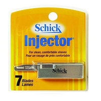 Schick Injector Razor Refill Blades, 7 Ct. + FREE Luxury Luffa Loofah Bath Sponge On A Rope, Color May Vary