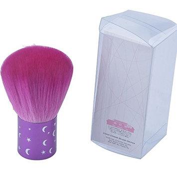 CSB Makeup Brushes Kabuki Brush Purple Moon Star Color Kabuki Nylon Hair Kabuki Blush Brush
