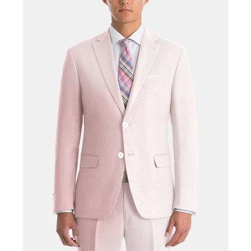 Men's UltraFlex Classic-Fit Pink Linen Suit Separates