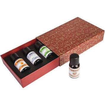 Homedics ARMH-EO15HOL3 Holiday Gift Set Of 4 Essential Oils