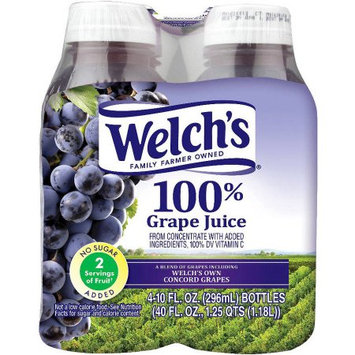 Welchs 100% Grape Juice, 40 FL OZ (Pack of 6)