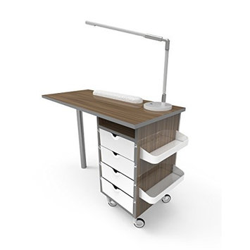 Wood Manicure Table (Light brown)