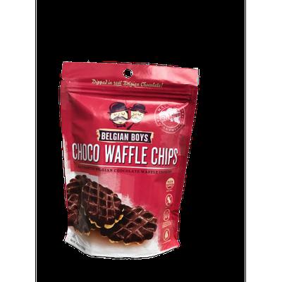 Belgian Boys Choco Waffle Chip 4.23oz