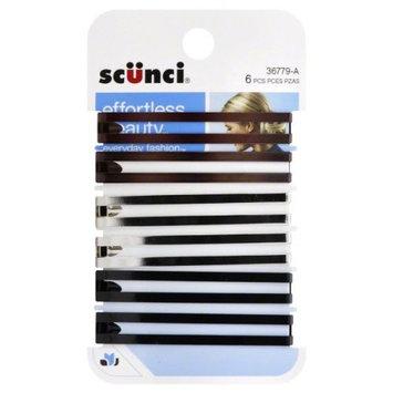 Scunci, Hair Clips 6 clips
