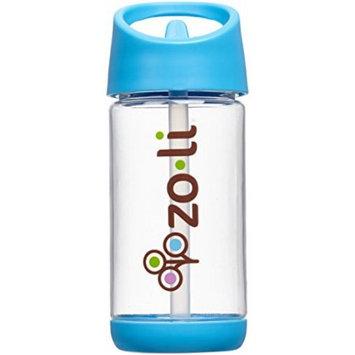 Zoli SQUEAK Water Bottle - Blue - 12 oz