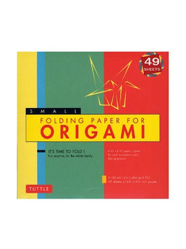 Tuttle Origami Paper Folding Paper, 6 3/4 in. x 6 3/4 in. [pack of 3]