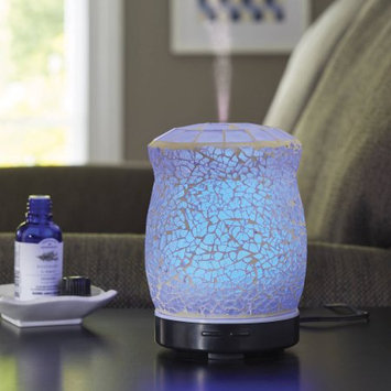Rimports Usa Llc Better Homes and Gardens Essential Oil Diffuser, Crackle Mosaic
