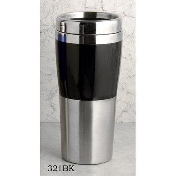 European Gift 321Bk Drinking Tumbler#44; Stainless 14Oz. Black