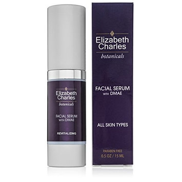 Elizabeth Charles Beauty - Organic Facial DMAE Serum for Firming - Skin Brightening Serum for All Skin Types - Natural Anti Aging Skin Care