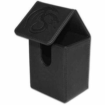 BCW Padded Leatherette Deck Case LX, Black