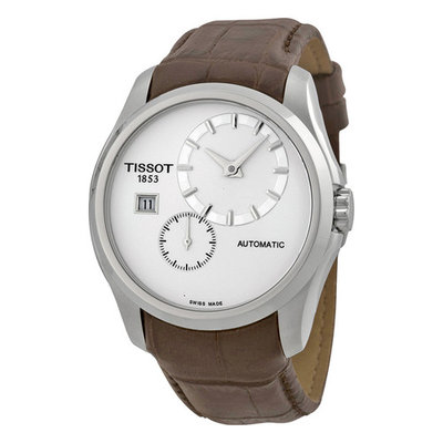 Tissot Couturier Automatic Silver Dial Mens Watch T0354281603100