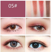 4 Colors Eyeshadow Eyebrow Combination Palette,YOYORI Waterproof and Long-Lasting Heart-Shaped Eyeshadow Eye Shadow Palette &Cosmetic Eyeshadow for Professional Makeup or Daily Use