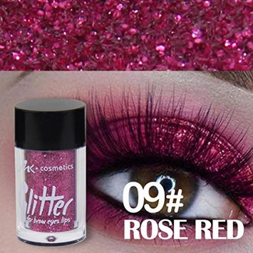 12 Colors Eyeshadow Combination Palette,YOYORI Waterproof and Long-Lasting Glitter Powder Eyeshadow Makeup Waterproof Brighten Pigment Eye Shadow for Professional Makeup or Daily Use