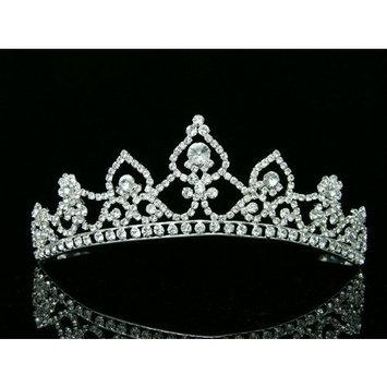 Bridal Rhinestone Crystal Wedding Prom Princess Tiara Crown