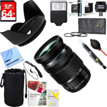 Olympus M.Zuiko ED Weatherproof 12-100mm F4.0 IS PRO Lens + 64GB Ultimate Kit