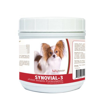 Healthy Breeds 840235111948 Papillon Synovial-3 Joint Health Formulation - 120 Count