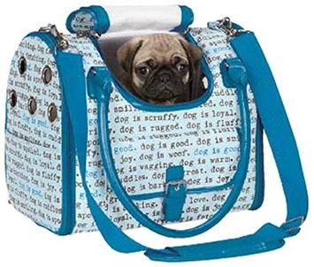 Dog is Good Dogism Dog Carrier Blue