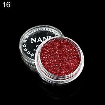Braceus Single Color Glitter Shimmering Shiny Eyeshadow Eye Shadow Women Beauty Cosmetic