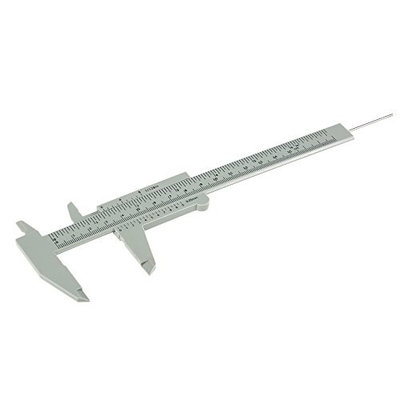 Double Scale Sliding Gauge Eyebeow Ruler Tattoo Permanent Makeup Eyebrow Tattoo Measuring Ruler Caliper Measure Tattooing Tools