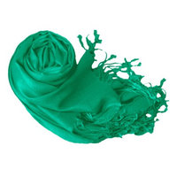Peach Couture Soft and Silky Bamboo Rayon Luxurious Eco-Friendly Shawl (Teal)