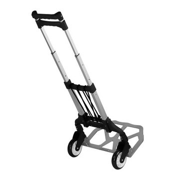 Relaunch Aggregator MI-901 Folding Hand Truck Dolly, Up To 165 Lbs