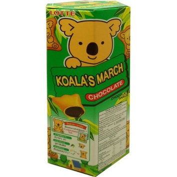 Lotte Koala's March Biscuits with Chocolate Filling Snack Net Wt 41 G (1.44 Oz) X 4 Boxes