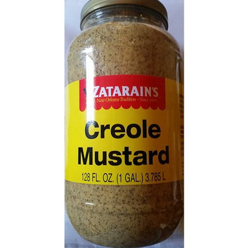 Zatarains Creole Mustard, 1 Gallon - 4 per case.
