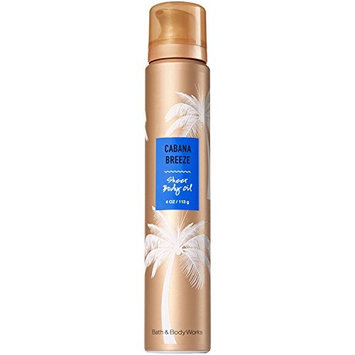Bath & Body Works Sheer Body Oil Cabana Breeze 4oz