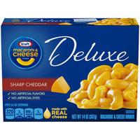 Kraft Deluxe Sharp Cheddar Macaroni & Cheese Dinner