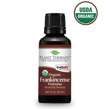Plant Therapy Frankincense Frereana Organic Essential Oil 30 mL (1 fl. oz.) 100% Pure, Undiluted, Therapeutic Grade