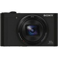 Sony Cyber-Shot DSC-WX500 Wi-Fi Digital Camera (Black)
