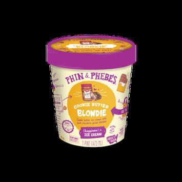 Mercer's Dairy Inc Phin & Phebes Cookie Butter Blondie Ice Creanm, 1 pint