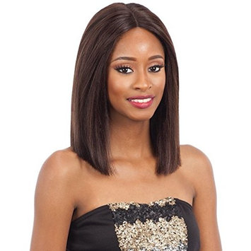 Naked Unprocessed Brazilian Remy 100% Human Hair Lace Front Wig - BRIGIT #Natural